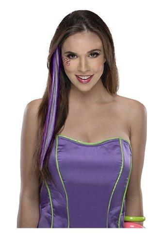 Neon Purple Hair Extension ()
