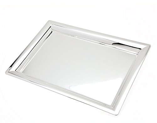 16 in. Rectangular Serving Tray (Metal Rectangular Tray)
