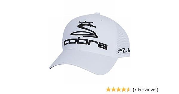 5b26ef1d25c Amazon.com  Cobra Men s Pro Tour Fly-Z Sport Mesh Flexfit Cap