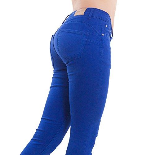 Up Toocool M5780 Elettrico Nuovi Pantaloni Elasticizzati Jeans Blu Push Aderenti Slim Donna Skinny x0FrwSv0q
