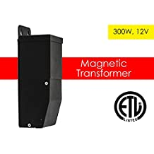 Outdoor DC 300W 12V LED Driver Power Supply Dimmable Magnetic Transformer