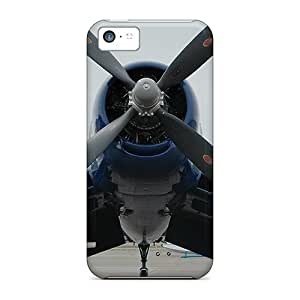 Case Cover Propeller Plane/ Fashionable Case For Iphone 5c