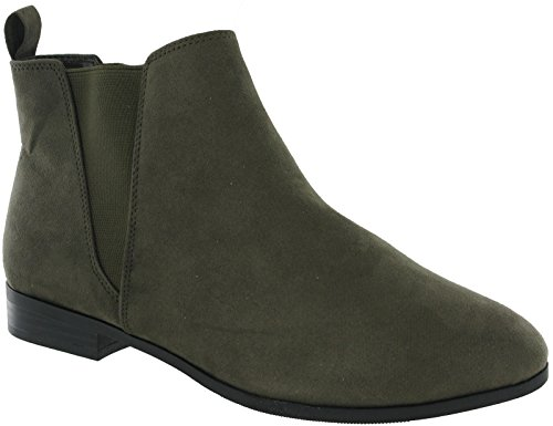 Boots Footwear Shoes Dealer UK Smart Womens Gusset Stores Ex 8 4 Fabulous Khaki Ankle IRdIq