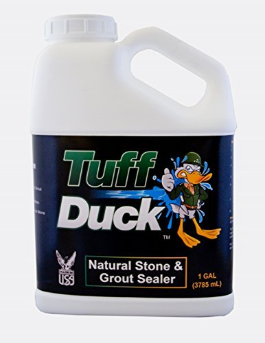 Tuff Duck Granite, Grout and Marble Sealer 1 Gallon Stone Tile