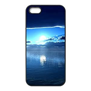 Blue Sky And Sun Creative Cell Phone Case For Iphone 6 plus 5.5