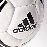 adidas Performance Tango Rosario Soccer Ball, White/Black/Black ...