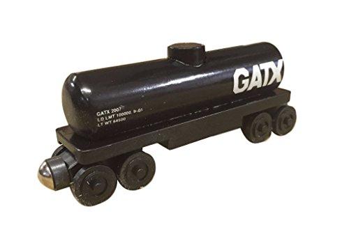 (Whittle Shortline Railroad - Manufacturer Series 44 GATX Tanker - Wooden Toy Train)