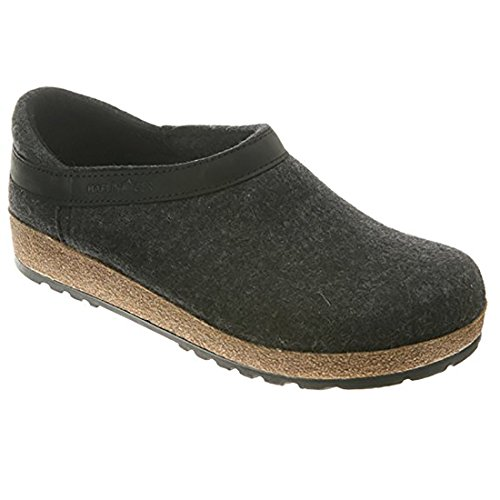 Haflinger GZH 714003 3 77 Graphit Slipper Size: EU 46 (US Mens 13); GZH44 Charcoal by Haflinger