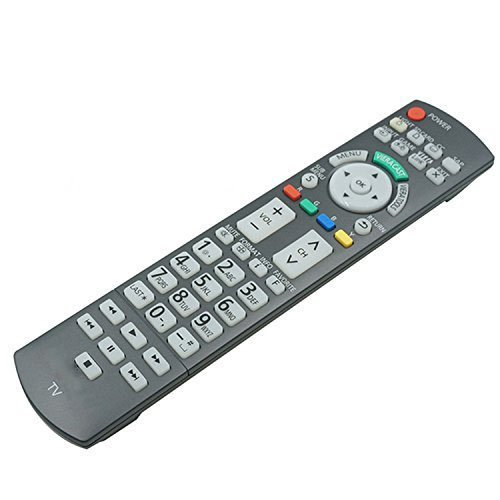 New OEM Replacement Panasonic Plasma TV Remote Control N2QAYB000486 for TC-P50VT20 TC-P58VT25 TC-P42G25
