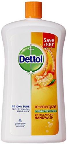 Dettol Liquid Soap Jar Re-energise 900 ml