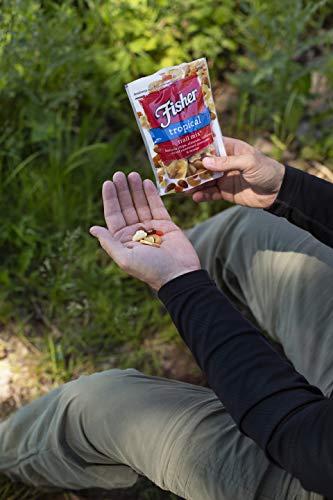 FISHER Snack Summit Trail Mix, 4 oz (Pack of 6), Peanuts, Milk Chocolate Candy, Raisins, Cashews