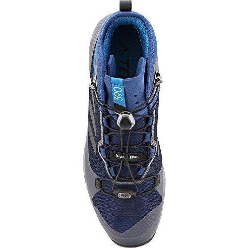 Adidas Outdoor Mens Terrex Fast Gtx-surround Scarpa Blu Notte, Nero, Grigio Tre