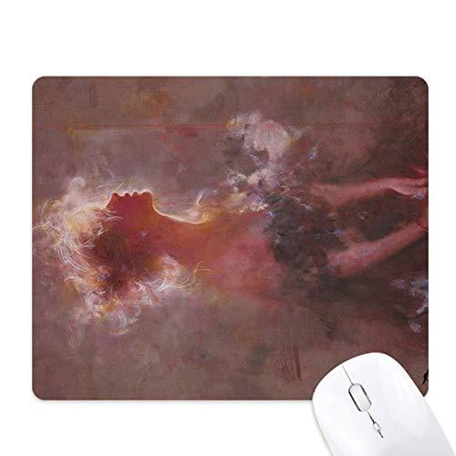 Clair De Lune XJJ Oil Painting Mouse Pad Non-Slip Rubber Mousepad Game Office