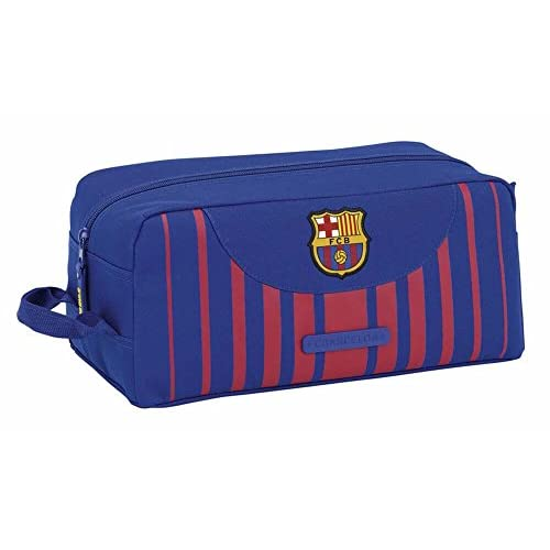 FC Barcelona Trousse à maquillage, Bleu/grenat (différents coloris) - 811729440