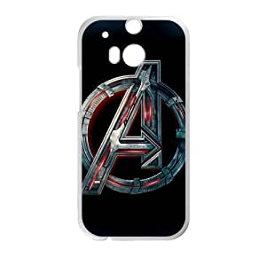 HTC One M8 Case Heavy Metal The Avengers Logo HTC One M8 (Laser Technology) by supermalls