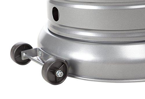 AmazonBasics Commercial Patio Heater, Slate Grey