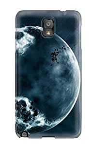 LillianHubbar Galaxy Note 3 Well-designed Hard Case Cover Space Art Protector