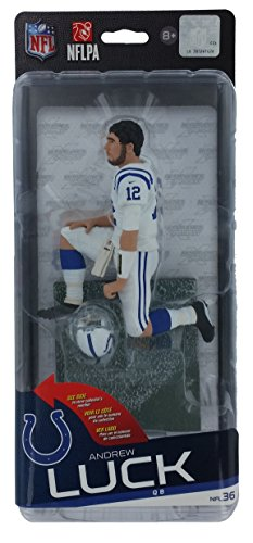 McFarlane Toys NFL Indianapolis Colts Sports Picks Series 36 Andrew Luck Action Figure [White Jersey]