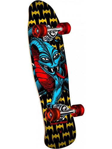 (Powell-Peralta Mini Cab Dragon II Yellow Complete Skateboard)