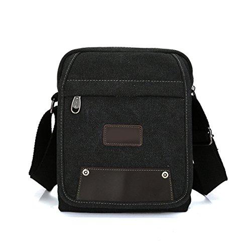 Männer Und Frauen Leinwand Taschen Schulter Kurierbeutel Art Und Weise Aktentasche,D-OneSize