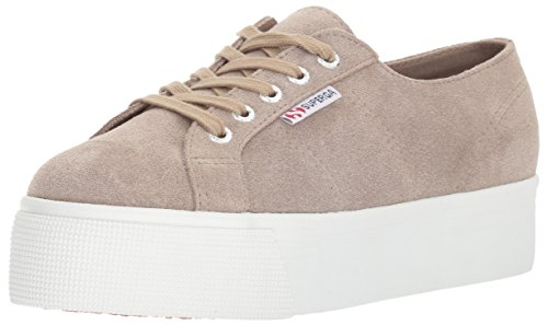 Superga Womens 2790 Suecotlinw Sneaker Sand Suede AhWkrmz4cY