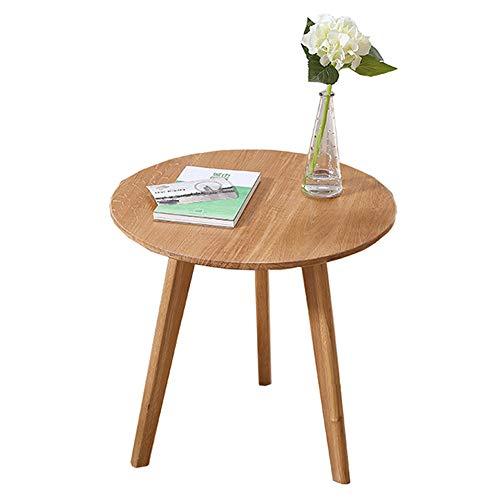 Feifei Wooden Table Round End Side Sofa Table Corner, used for sale  Delivered anywhere in USA