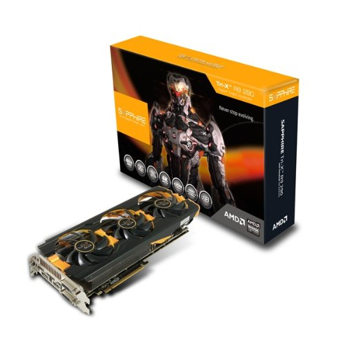 Sapphire Radeon R9 290 4GB GDDR5 DUAL DVI-D/HDMI/DP for sale  Delivered anywhere in USA