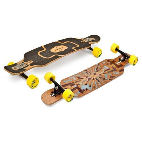 本当に第二にセッションLoaded Tan Tien Complete Longboard Skateboard W/ Yellow 4 President Wheels by Loaded