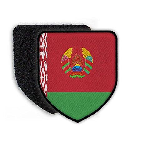 Flag of Belarus country national coat of arms - (Belarus Coat)