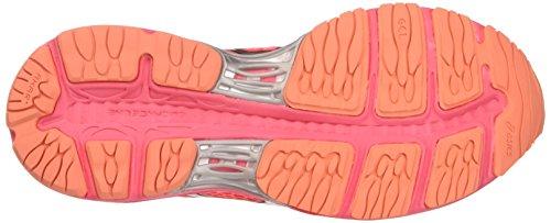 Damen Pink UK Dunkelviolett Gel Laufschuhe Diva 18 Cumulus Silver Asics Pink Pink Coral TwqfxAOOS