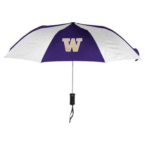 (WinCraft NCAA Washington University of Auto Folding Umbrella, Black)