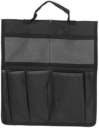 Multifunktionale tragbare Knieschoner-Werkzeugtasche Zusammenklappbare Oxford Garden Tool Aufbewahrungstasche für den Außenbereich Schwarz