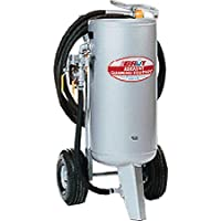 150 Lbs Sandblaster W/ Water Extractor At A Glance