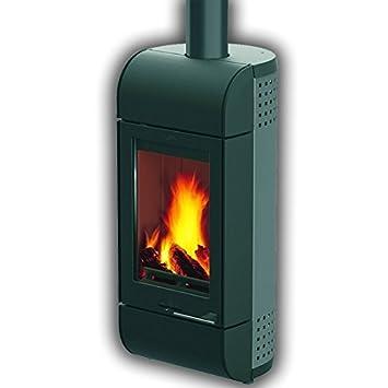 Leda chimenea formia{6} kW de carbón de madera estufa de leña: Amazon.es: Bricolaje y herramientas