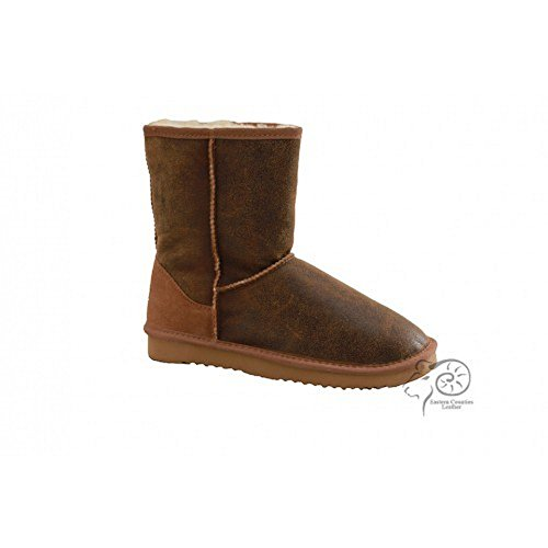 Eastern Counties Leather Mens Noah Aviator Sheepskin Boots Chestnut CgqZxBMbMg