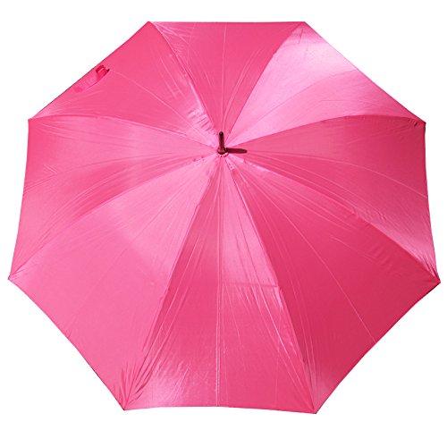 Bride Golf (HOT Pink 60 inch golf umbrella. HOT Pink Wedding Umbrella. Wedding photographer. Bride Groom gift.)