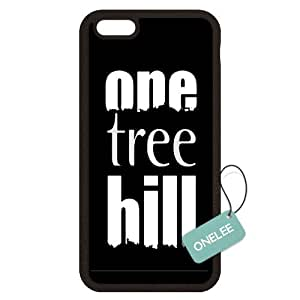 """iPhone 6S Plus Case,Onelee One Tree Hill Black Rubber(TPU) [Scratchproof][Never Fade] Case For 6S Plus 5.5"""""""