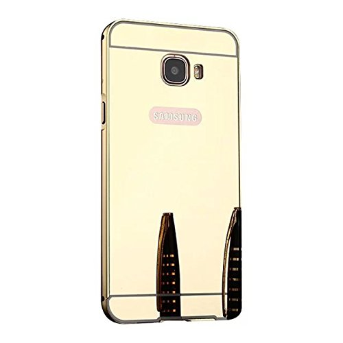 Slim Shockproof Case for Samsung Galaxy On7 (Gold) - 6