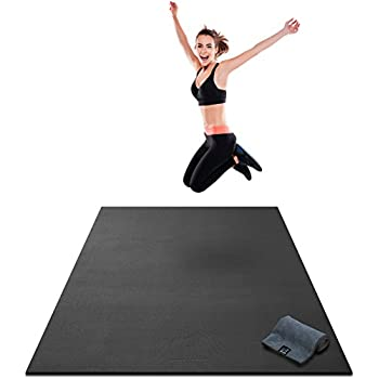 Amazon.com : Pogamat Large Exercise Mat and Thick Yoga Mat