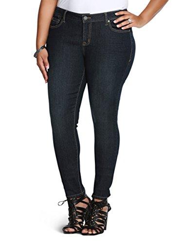 Torrid Curvy Skinny Jeans - Dark Wash (Shorter & Taller Lengths!)