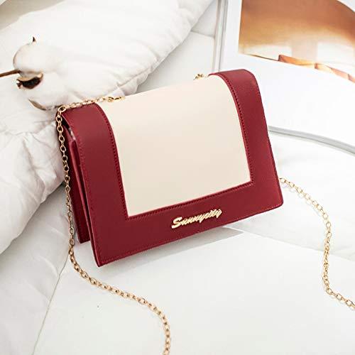 (Summer Deals!Fashion Briefcase Leather Laptop Satchel Work Bags-Vintage Crossbody Genuine Leather Laptop Messenger Bag-Lady Shoulder Small Backpack Letter Purse Mobile Phone Messenger Bag)