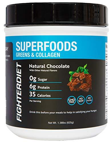 Fighterdiet Collagen & Greens Superfood - 625g
