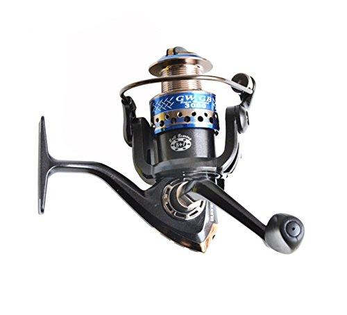 GW gb3000釣りリール9 BB SPINNING REEL FISHING TACKLEギア比5.2 : 1右または左Interchangable   B00WJBS74E