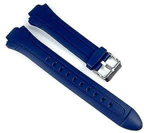 Casio Ersatzband Uhrenarmband Resin Band Dunkelblau MTR-302-7A2VF MTR-302