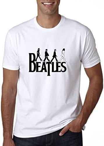 The Beatles Clipart Black White Blanco Camiseta Top t-Shirt ...
