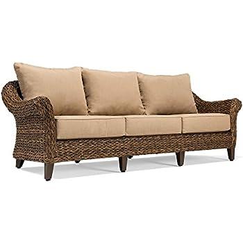 Amazon Com Blue Oak Outdoor Bahamas Patio Furniture Sofa