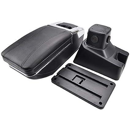 Rotatable Armrest For 2007-2013 SX4 Black Thread Storage Box Arm Rest