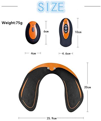 EMS Hips Trainer, Buttocks/Hips Trainer Muscle Toner, Home Workout Butt Lifting Buttocks Enhancement Device, Smart Fitness Training Excise Equipment
