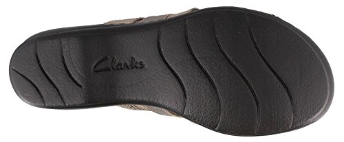 METALLIC 8 Leisa Sandals 5 Women's W Slide Field Clarks Xxwv4