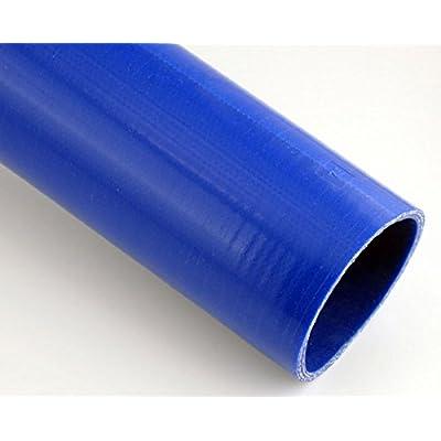 Pegasus SHL76-BLUE, Blue Silicone Hose, Straight, 3 inch ID, 1 Meter Length (no logo): Automotive